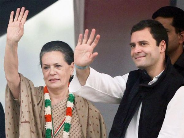 Congress strongly followed dynasty politics as sonia gandhi and rahul gandhi