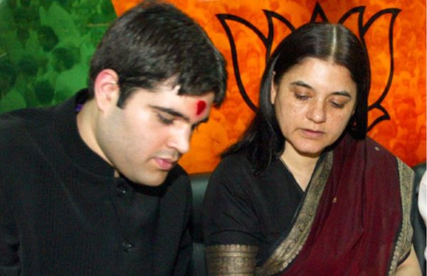 Menaka Gandhi is projecting Varun Gandhi as the next chief minister of UP