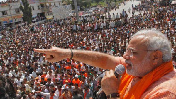 Modi to address his own gathering of followers
