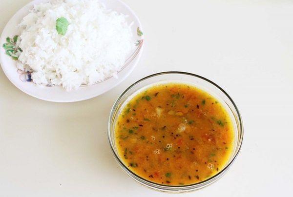 Sindhi loves bhaji and chawal