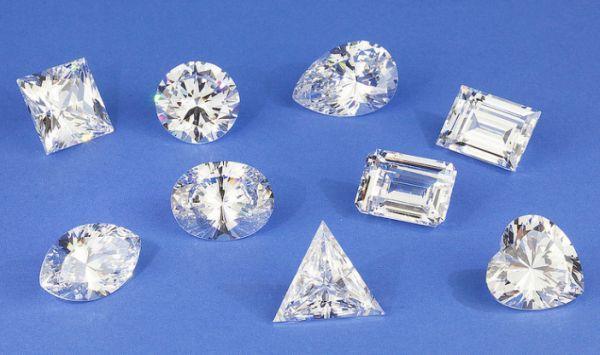 many diamonds