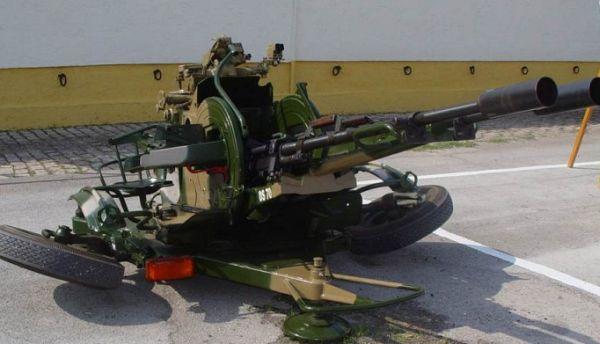 ZU 23-2 Sergery anti- aircraft cannon