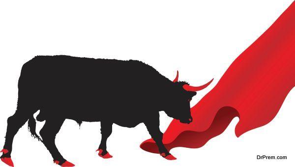 Bulls are enraged