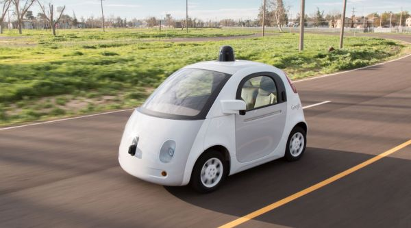 Self-driving car Google