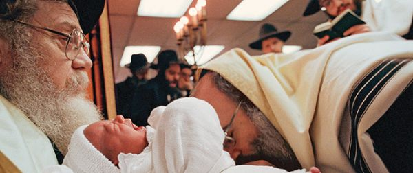 "Covenant of circumcision, also known as a bris, is a religious ceremony within Judaism to welcome infant Jewish boys into a covenant between God and the Children of Israel through ritual circumcision performed by a mohel (""circumciser""), on the eighth day being done in a Chabad Lubavitch in Crown Heights, Brooklyn, New York."