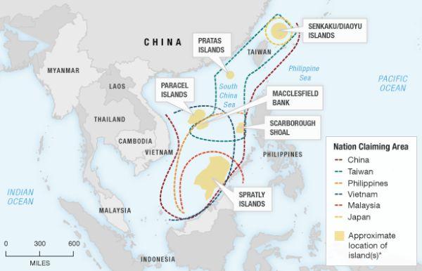 South and East China Sea Disputes
