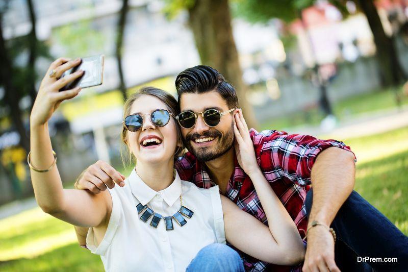 Dating-selfie