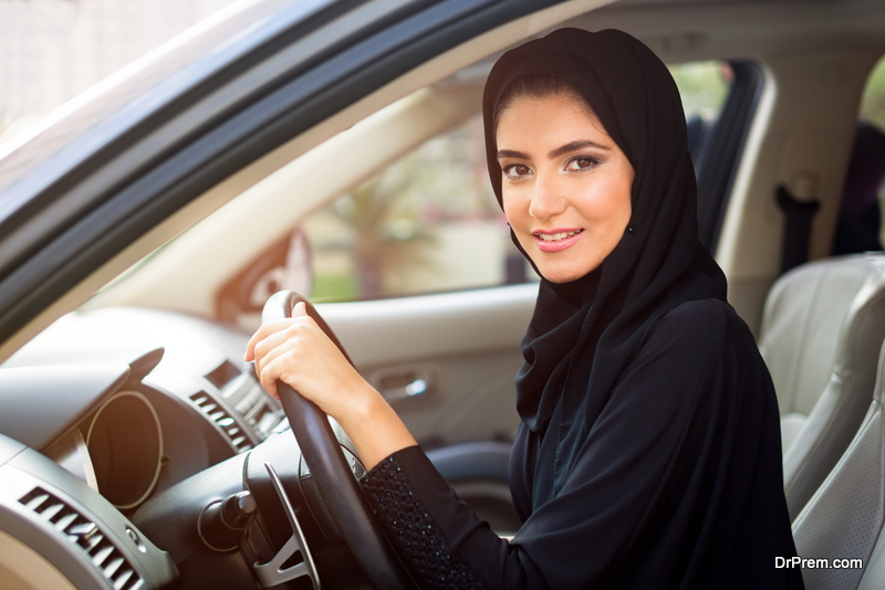 Arab Women Driving