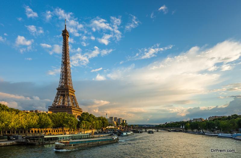 banks of river Seine