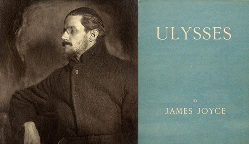 reading James Joyce's Ulysses