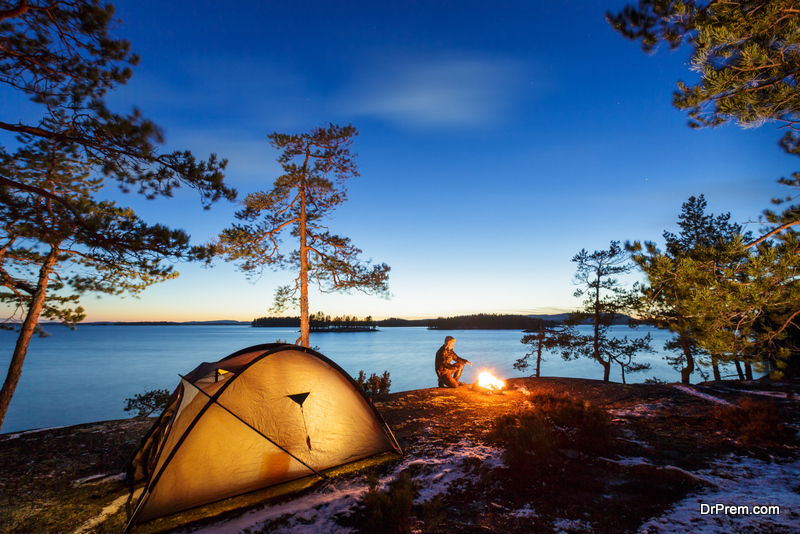 stay safe whilst wild camping