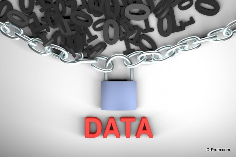 Backup the data