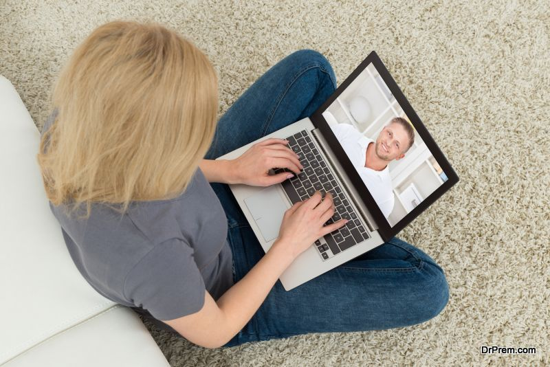 Video-call whenever possible