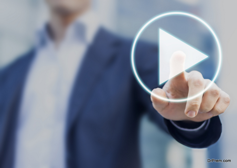 opt for a video presentation