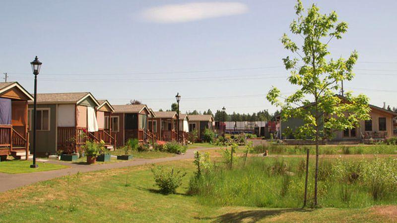 Quixote Village in Washington