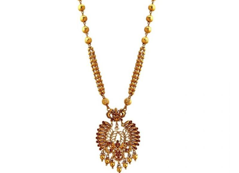 designs of gold necklace