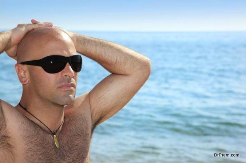 Accept baldness as a fact of life