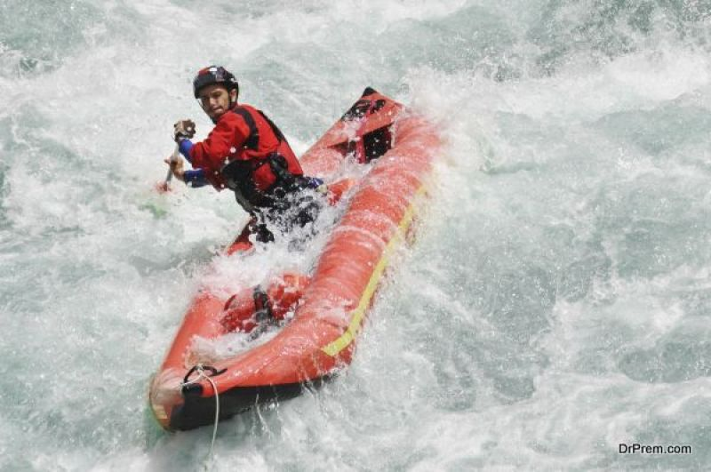 encountering of Rafting