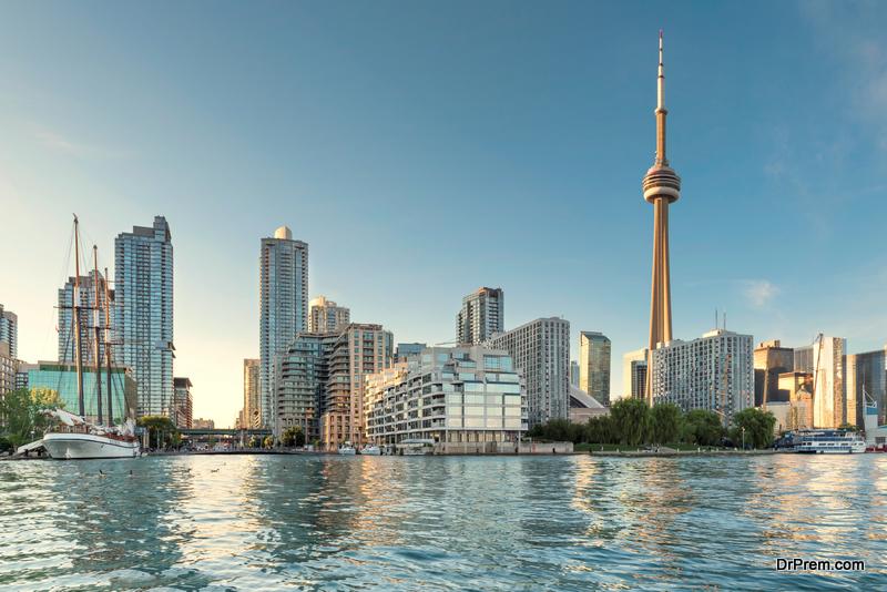 CN tower Toronto City