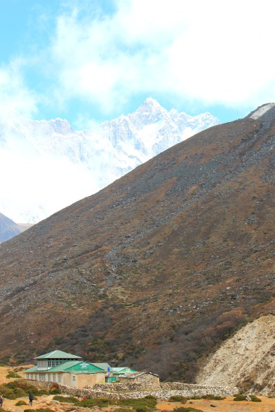An uneventful climb ahead of us.