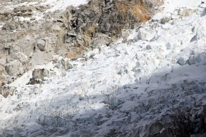 The infamous Khumbu Icefall where majority of accidents during summit happen.