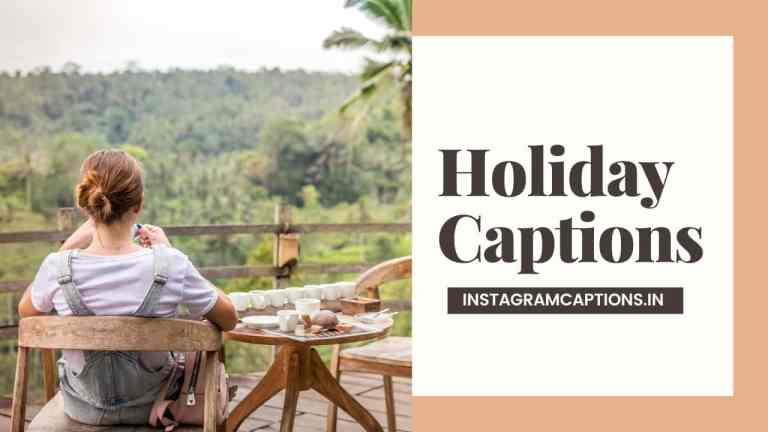 Holiday Captions for Instagram