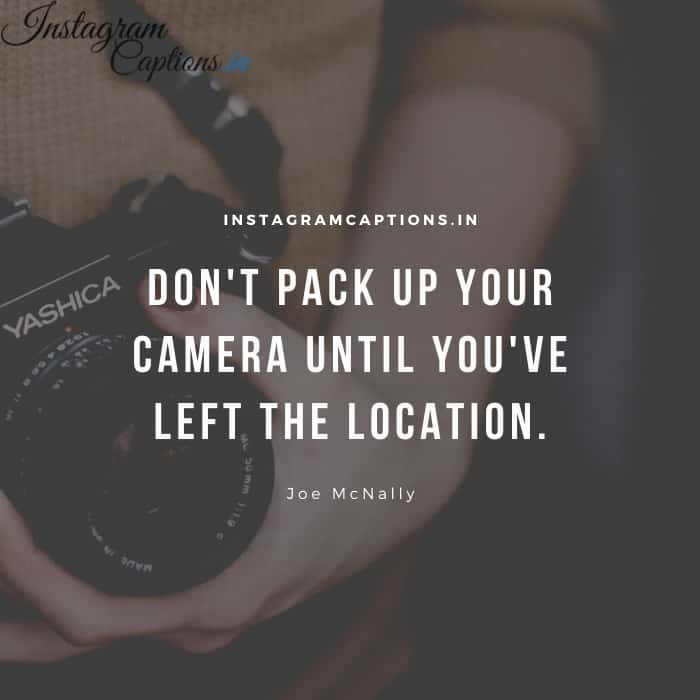 Photography Quotes and Captions
