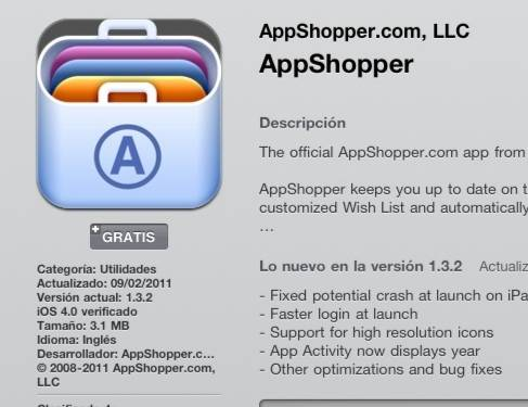 App Shopper App helps you finding the best apps