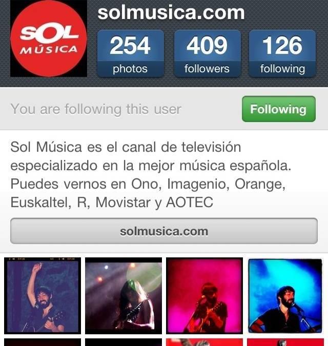 Rock independiente y periodistas musicales activos en Instagram