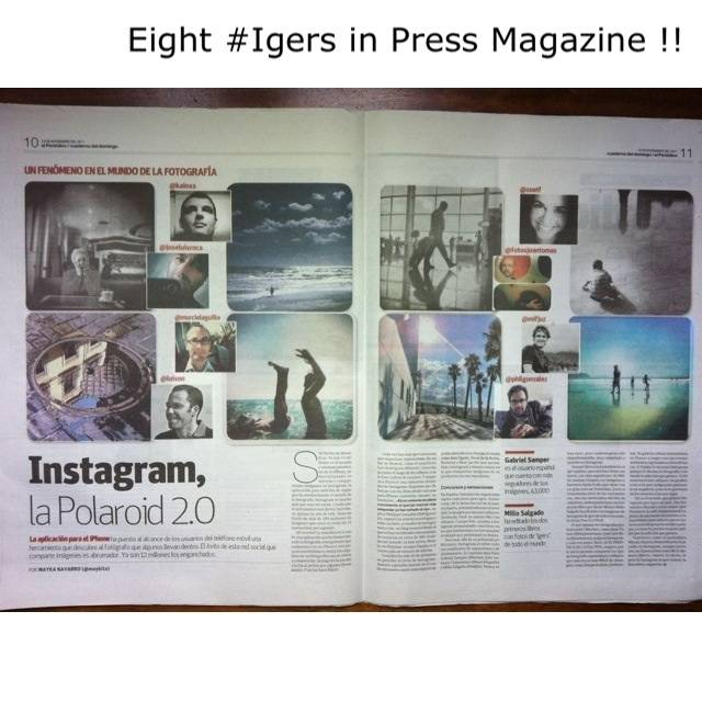 Instagram, La Polaroid 2.0 en El periódico de Catalunya