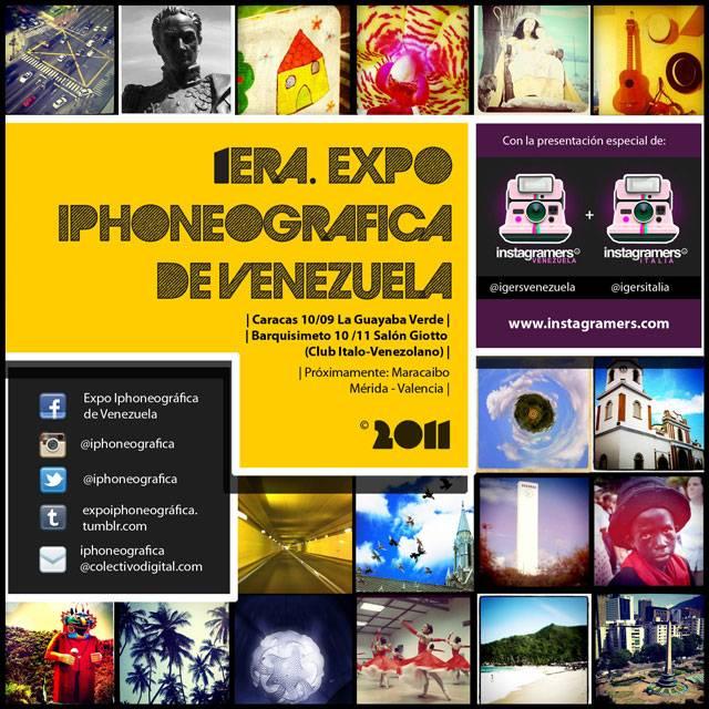 Primera Expo Iphoneografica en Venezuela