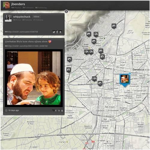 Ink361.com unveils the location based Instagram world around you.