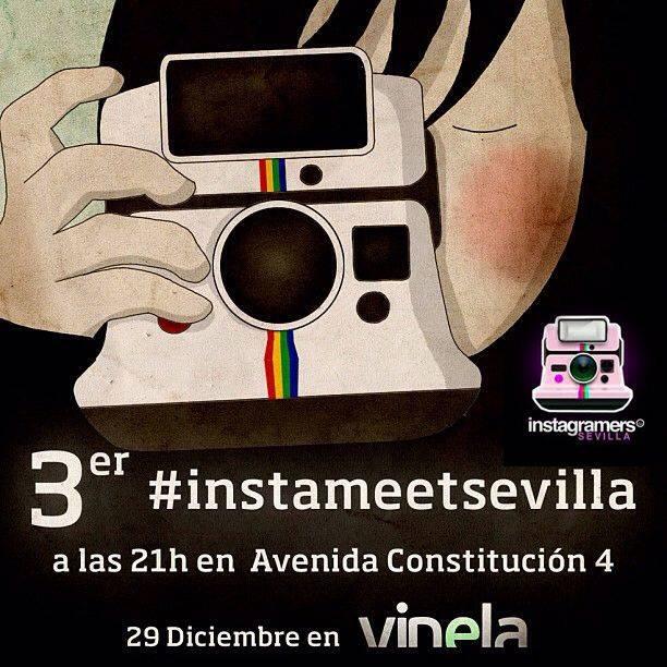 Tercer Instameet de Instagramers en Sevilla.