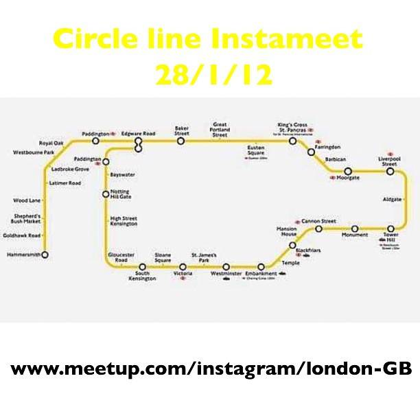 London Tube Photo Mission in Instagram