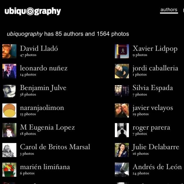 Exposición en PICS 2012 Ubiquography