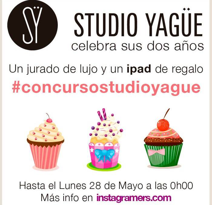 Studio Yague celebra su segundo aniversario regalando un Ipad en Instagram