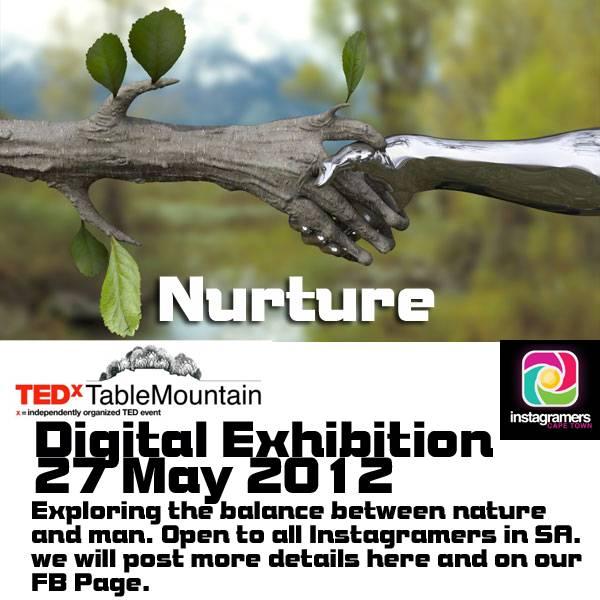 Nurture, digital exhibition in South Africa with IgersCapetown