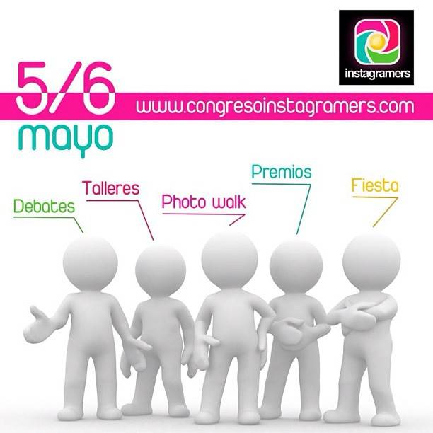 Tonight starts First Instagramers Congress this week end in Torrevieja, Spain