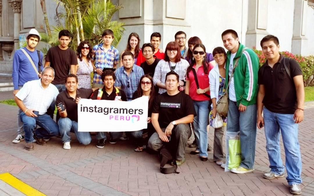 Primer Instameet con el nuevo equipo Instagramers Perú