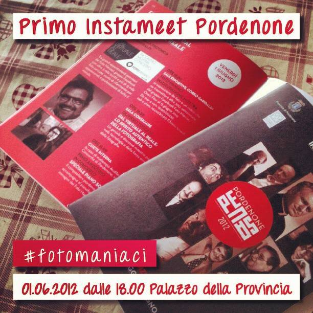 First Instameet of Instagramers Pordenone Italia at FotoManiaci