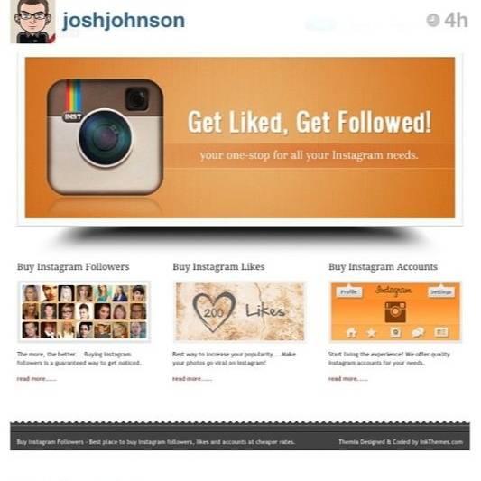 Buy Instagram Followers, the latest nonsense web
