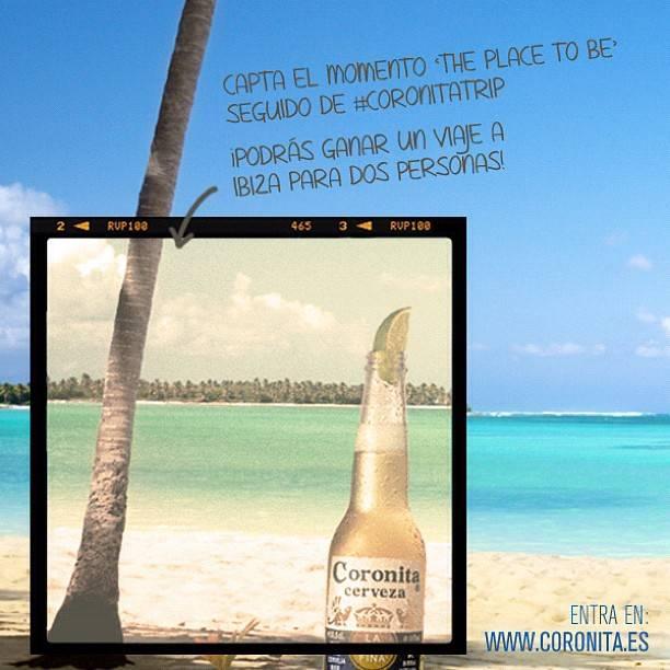 Coronita lanza su propio concurso de verano en Instagram