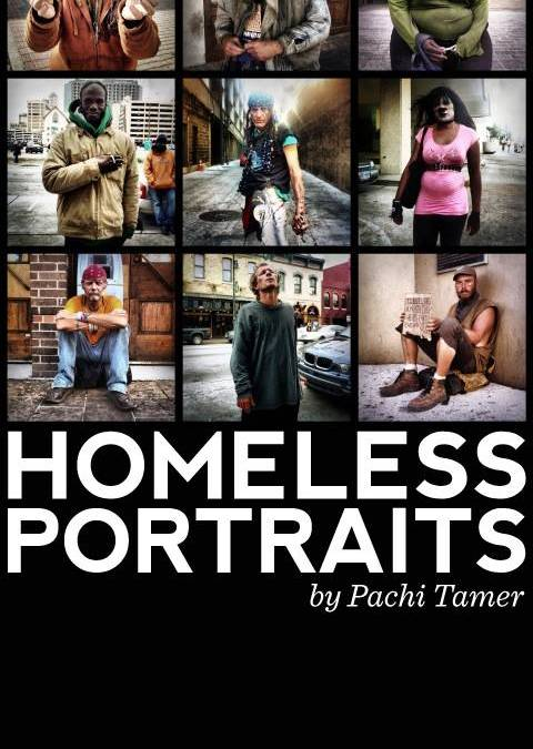 Homeless Portraits Exhibition from Instagram Pics with Cachafaz