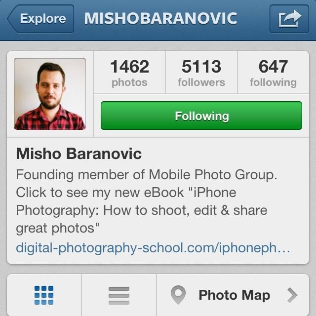 FlashOn Instagramers 1.34: @MishoBaranovic