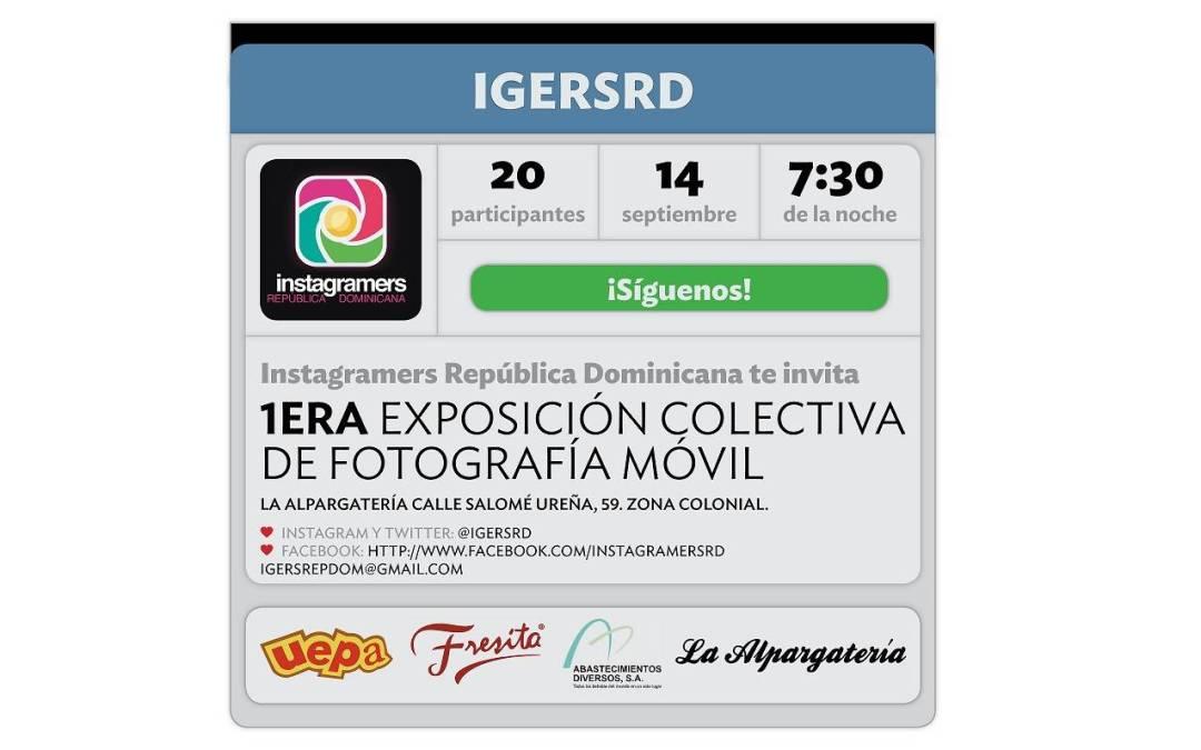 Instagramers República Dominicana presenta su primera exposición colectiva