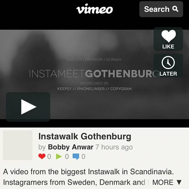 Amazing Instameet in Gothenburg with Instagramers from Denmark, Norway and Sweden