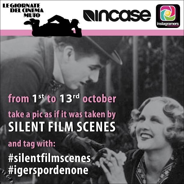 Silent Film Days Contest in Pordenone, Instagramers Italia Network