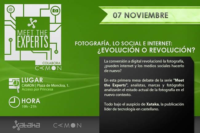 Meet the Experts Evento sobre el futuro de la fotografía organizado por Xataka Foto