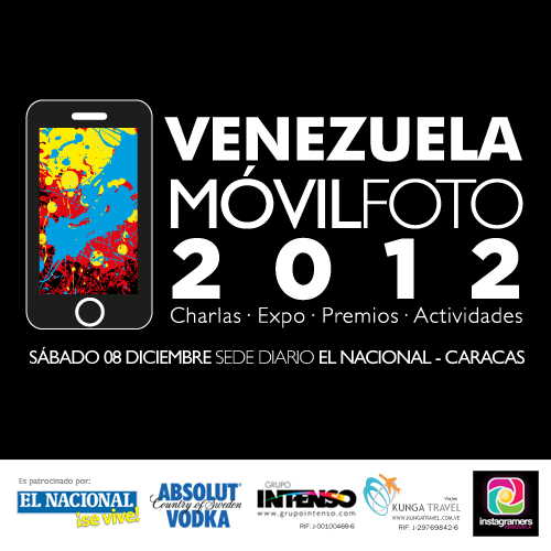 Venezuela Movil Foto 2012 will exhibit its first Premio Nacional de iPhoneografia