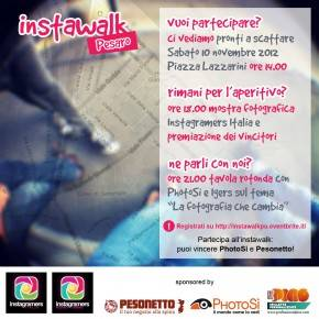 Instawalk, Expo Instagramers Italia and Round Table about Photography in Pesaro, Italy